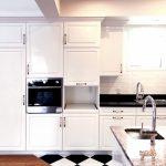 美しい光沢のある高級キッチンの実例